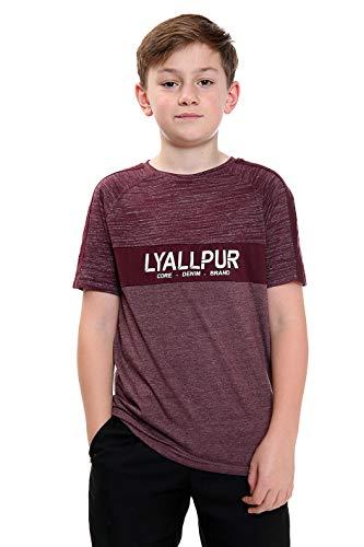 Click2style, maglietta girocollo per bambini, con stampa frontale HD, in cotone, morbido, confortevole, 2 tipi di tessuto, utilizzato per il comfort Grindles Degustazioni Vino 13-15 Anni