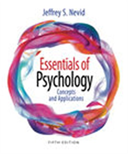 Compare Textbook Prices for Essentials of Psychology: Concepts and Applications 5 Edition ISBN 9781305964150 by Nevid, Jeffrey S.