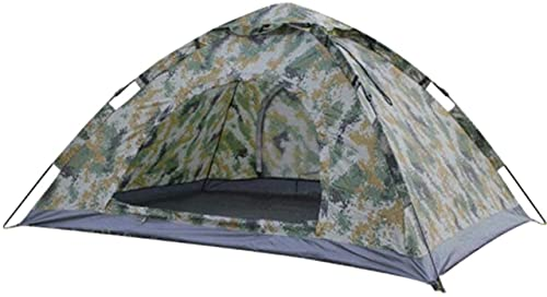 Ankon Portable family camping tent Automatic Quick Open Outdoor Camping Ultralight Tent for Backpacking Fishing (Color : Camouflage, Size : 200x150x100cm)