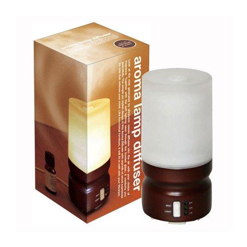 アロマランプディフューザーaroma lamp diffuer【タイマー付】【保証書付(6ヶ月)】【カラー:ダークブラウン】