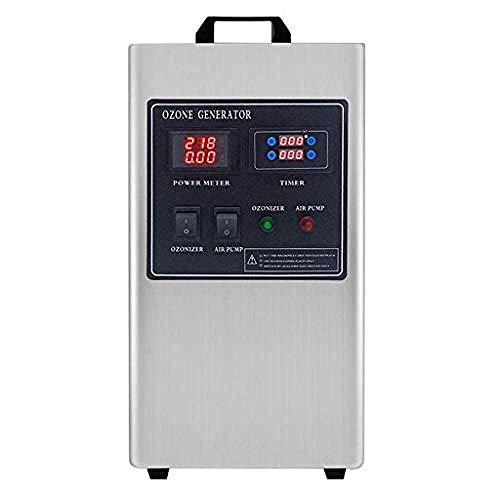 TIANXIAWUDI Ozonizador,Generador de ozono Purificador de Aire Comercial O3 Desodorante y esterilizador...