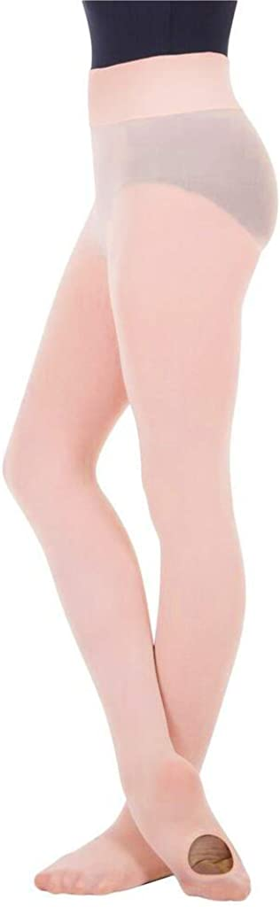 BodyWrappers Women's Wide Smooth Waist Convertible Tights - A41