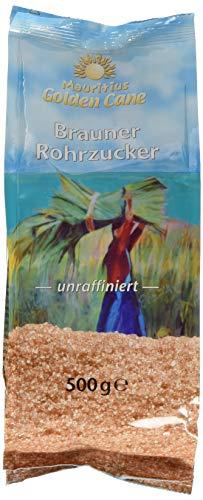 Golden Cane Brauner Rohrzucker (1 x 500 g Packung)