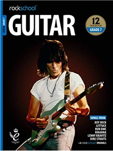 ROCKSCHOOL GUITAR GRADE 7 2018 BOOKAUDIO