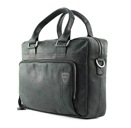 Strellson Richmond Briefbag MHZ Aktentasche, Schwarz