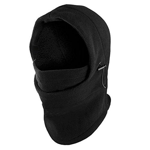 Forro Polar Resistente al Viento de esquí Máscara para la Cara Capucha Balaclavas por Super Salida Z