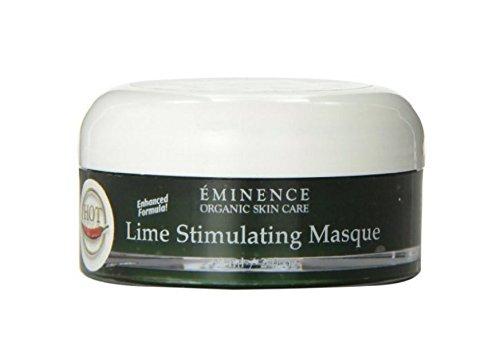 Eminence Organic Skincare Lime Stimulating Treatment Masque, 2 Fluid Ounce