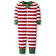 BBY Holiday Red Bold Stripe Sleeper-Holiday Red Bold Stripe
