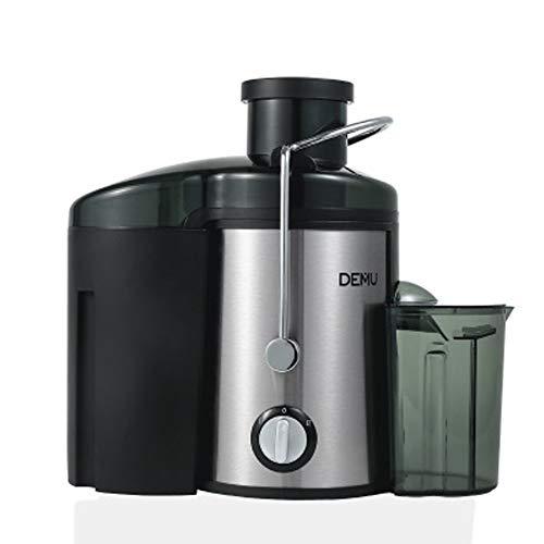 YBCD Zentrifugal-Entsafter,Edelstahl-Entsafter, Küchengeräte für den Hausgebrauch,breites Maul für ganzes Obst und Gemüse, Lebensmittelqualität Edelstahl ohne BPA, Zwei-Gang-Entsafter mit Tropffu