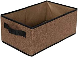 MU Grande boîte de rangement pliable, boîte de rangement d'ornement, boîte de rangement des aliments, conception de tiroi...