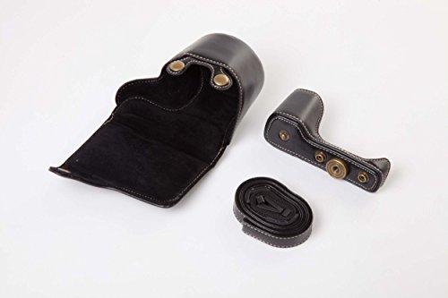vhbw Negro cámara-Bolsa para Sony Alpha 6000, 6300, A6000, A6300