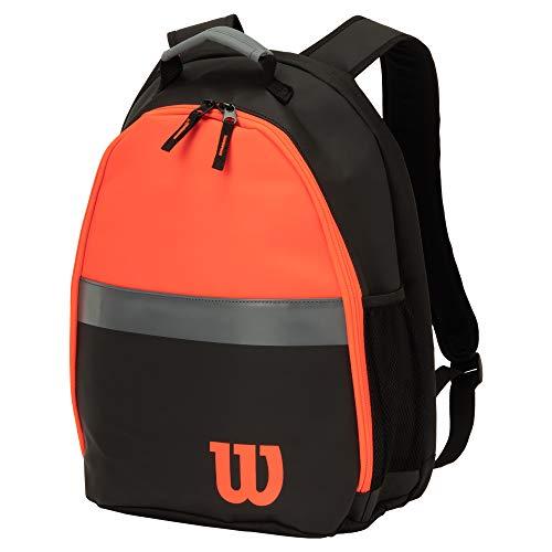 Wilson(ウイルソン) テニス バドミントン ラケットバッグ CLASH BACKPACK(クラッシュ バッグパック) ラケット2本収納可能 ブラック WR8002601 ウィルソン