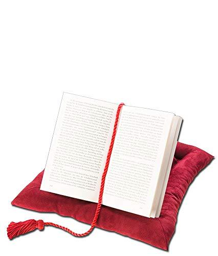 Wenko Buchkissen aus 100% Polyester / Buchhalter oder Tablethalter / komfortables Lesen bei freien Händen