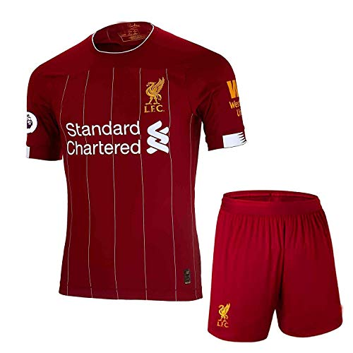 Liverpool 2019-20 Home Jersey with Shorts Master Quality (M)