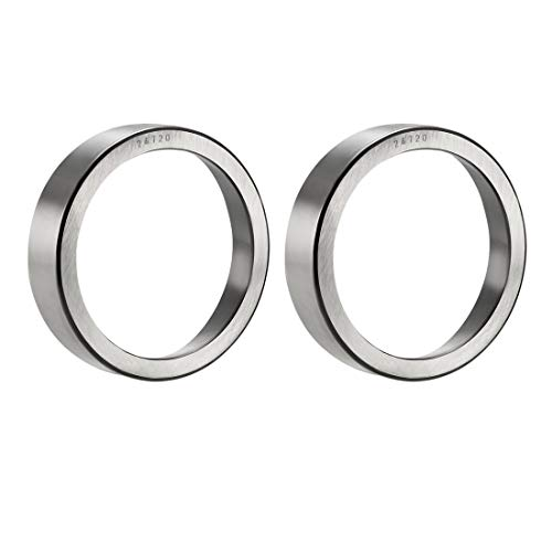 uxcell 24720 Tapered Roller Bearing Outer Race Cup 3 inches Outside Diameter, 0.6875 inches Width 2pcs