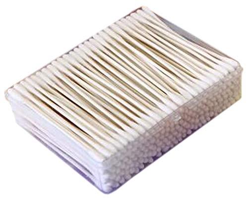 Cotons-tiges de sécurité 200 pièces Coton-tige à double pointe Bâtons de nettoyage polyvalents #29