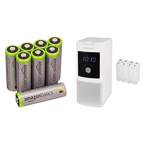 【中身が見える福袋2020】【Amazon.co.jp限定】SECULINE 充電器 ENEROID EN20ST 単2変換スペーサーセット ...