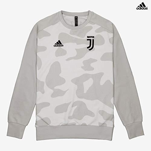 Juventus Felpa Camo Stagione 2019/20-100% Originale - 100% Prodotto Ufficiale - Uomo - Colore Sabbia Chiaro/Scuro - Taglia M