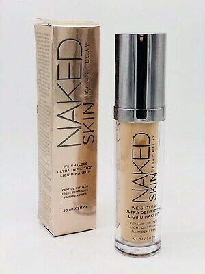 UD Naked Skin' Weightless Ultra Definition Liquid Makeup. Shade 3.5
