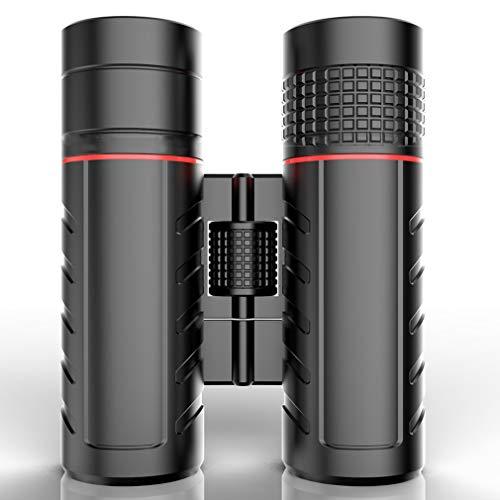 PIGE Jumelles 8-16 Fois Haute définition Observation des Oiseaux Télescope Imperméable à l'eau Noir Anti-buée Convient à la randonnée Tourisme Camping Regarder Un Concert (Taille : A8×32)