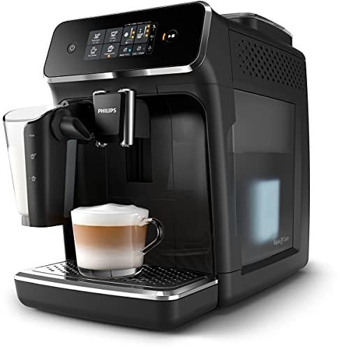 Philips Serie 2200 Lattego ep2231/40 - Cafetera superautomática, 3 bebidas de café,...