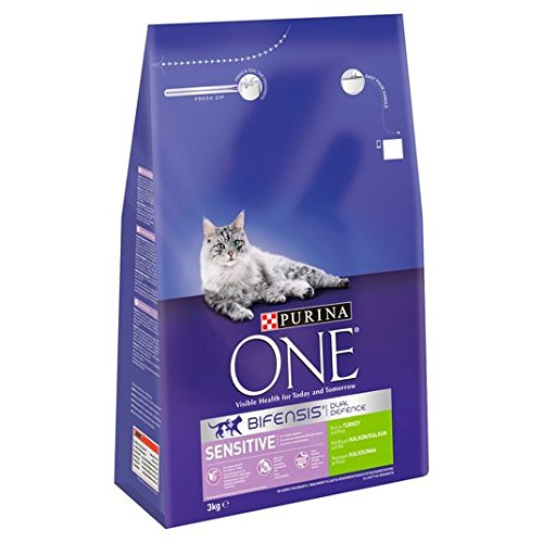 Purina One Sensitive Türkei & Reis 3 kg