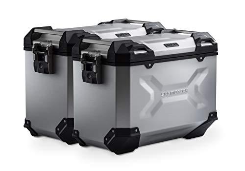 SW-MOTECH - Sistema de maletas TRAX ADV Plateado. 45/45 l. Multistrada 1200 / S (10-14).