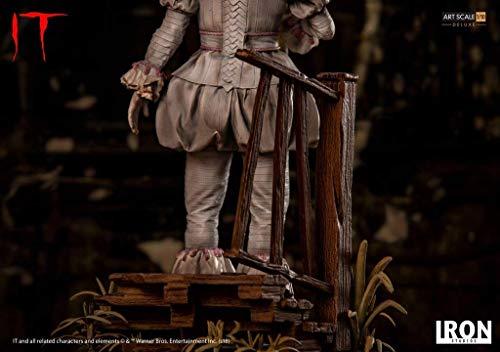 Iron Studios IS773562 Pennywise-Deluxe - Estatua a Escala de Arte (Escala 1:10) 4