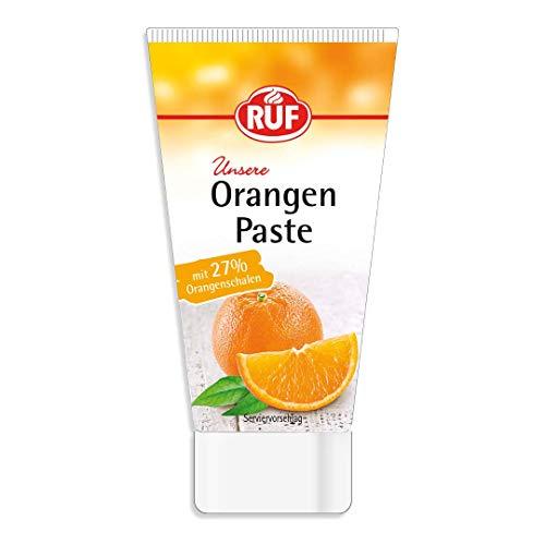 RUF Orangenpaste aus Orangenschalen ohne Zuckerzusatz, 1 x 50g