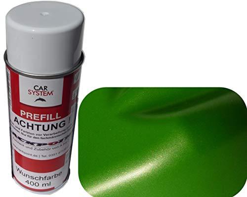 Lackpoint Spraydose 400ml 1K Autolack Mamba Grün Metallic Matt Kein Klarlack Trend Tuning