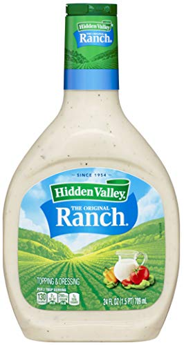 Hidden Valley Original Ranch Salad Dressing & Topping, Gluten Free - 24 Ounce Bottle (Package May Vary)