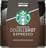Starbucks Doubleshot Espresso, Americano Black, 6.5 fl oz. Cans, (4 Pack)