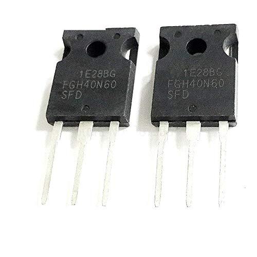 IndustrialField 2pcs FGH40N60SFD FGH40N60 TO3P 40N60 600V 40A IGBT Transistor