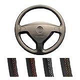 zis Coperchio del Volante per Auto Personalizzato Adatto per Buick Sail Opel Astra G H 1998-2007. Opel Zafira A 1999-2005 Treccia sterzata Automatica (Color Name : Black)