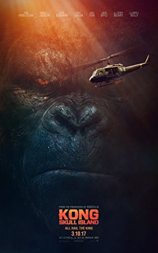 Kong: Skull Island Movie Poster Limited Print Photo Tom Hiddleston, Samuel L. Jackson, Brie Larson Size 24x36#2