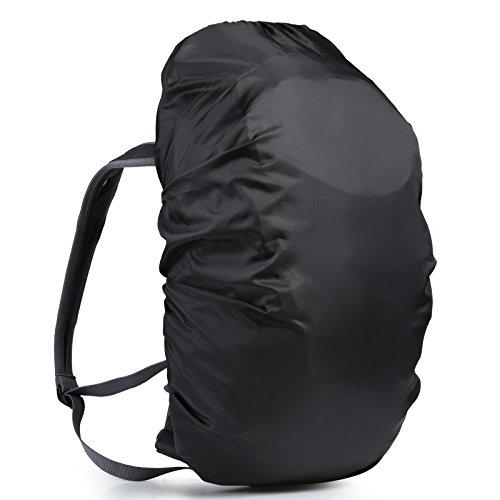 LEMESO Regenschutz Wasserdicht für Rucksack Ranzen Regenhülle Rucksackschutz für 35L