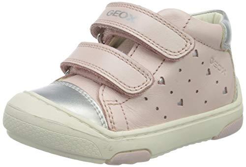 Geox B JAYJ Girl D, Sneakers Basses, Rose (Lt Rose/Silver C8237), 23 EU