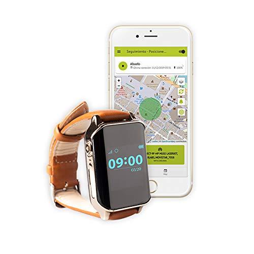 Nock Sènior 2 - Rellotge telèfon localitzador GPS per a Alzheimer o persones majors