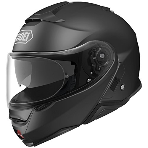 Shoei Neotec II Flip-Up Motorcycle Helmet Matte Black Large...