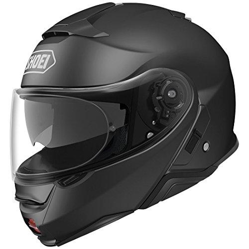 Shoei Neotec II フリップアップ オートバイヘルメット マットブラック Lサイズ (追加サイズと色)