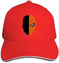 FOODE Super Villain Deathstroke Peaked Baseball Cap Snapback Hats