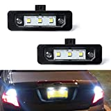 2012 Ford Fusion License Plate Light Bulbs - License Plate Light, GemPro 2Pcs LED License Plate Tag Lamp Assembly For Ford Mustang Focus Fusion Flex Taurus Lincoln Mercury Lincoln