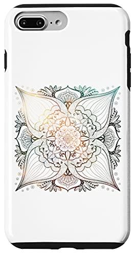 iPhone 7 Plus/8 Plus Emerald Milkyway Mandala Sacred Geometry Yoga Mantra Om Case
