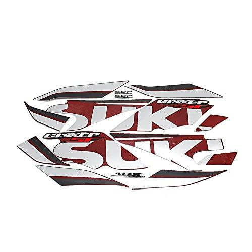 LYJB Calcomanías de Motociclismo para Su&zuki GIxxer 150155 SF GIXXER150 GIXXER155 2019 2020 2021 calcomanías de Vinilo Impermeables para Motocicleta Pegatinas para carrocería y Rueda (Color : C)