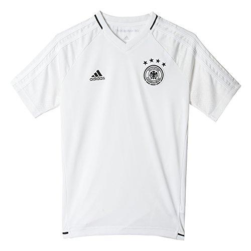 adidas Dfb Trg Jsy Y Camiseta Entrenamiento Federación Alemana de Fútbol, Niños, Blanco (Blanco / Negro), 140