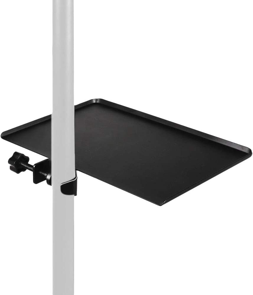 Mr.Power Microphone Stand Rack Tray Holder for Stage, Live Streaming, Recording (7.8