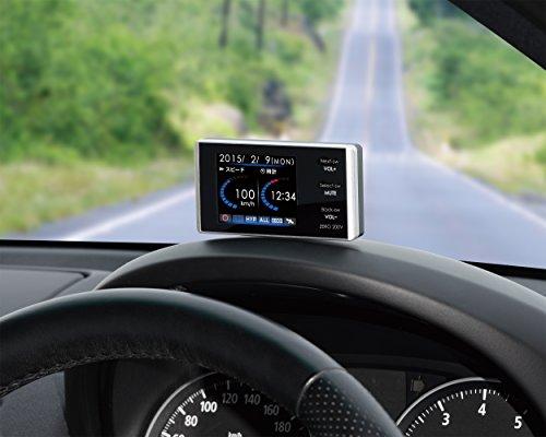 『コムテック レーダー探知機2.2インチ液晶搭載 コンパクトボディ 超高感度GPS ZERO 200V』の1枚目の画像