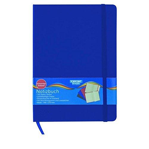 Notizbuch, kariert, ca. 14,8 x 21,0 cm, 192 Seiten by Stylex