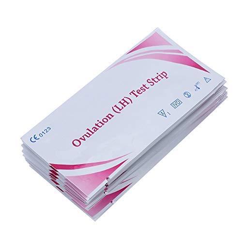 Bande de test d ovulation LH, tests de bande très sensibles de fertilité, bâtons de détection d urine à la maison de grossesse pour des femmes, 10pcs