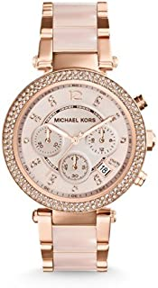 Michael Kors Women's MK5896 Parker Analog Quartz Two Tone Watch